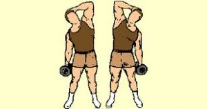 side bends with resistance